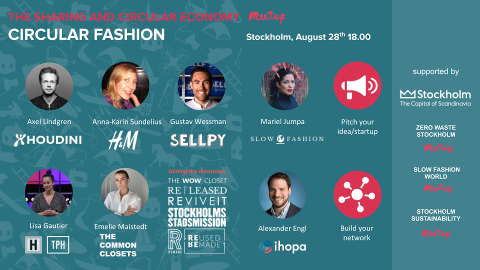 Can fashion become sustainable through circular fashion or sharing economy?